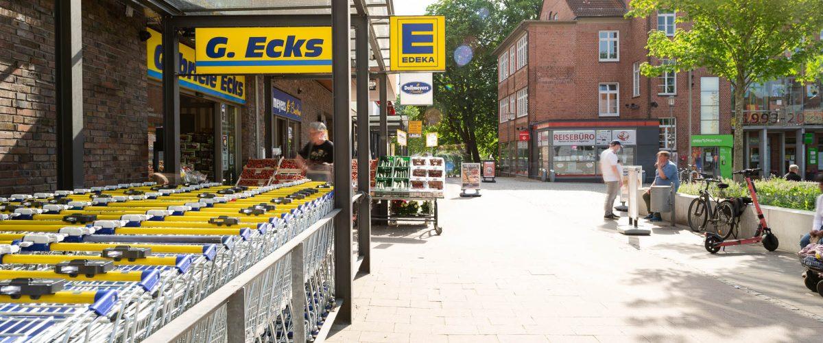 Businessfotografie für den Edeka Markt Ecks